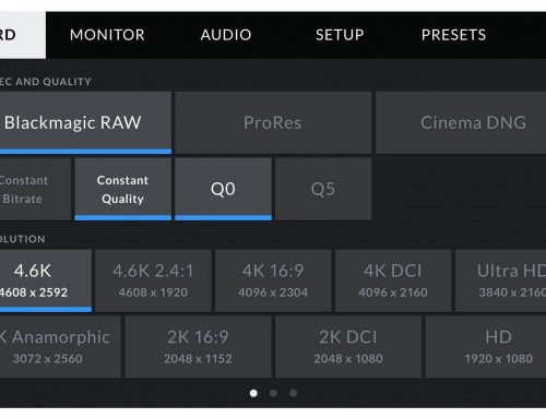Blackmagic Design Announces Advanced New Blackmagic RAW Codec