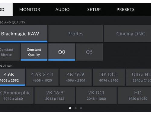Blackmagic Design Announces Advanced New Blackmagic RAW Codec