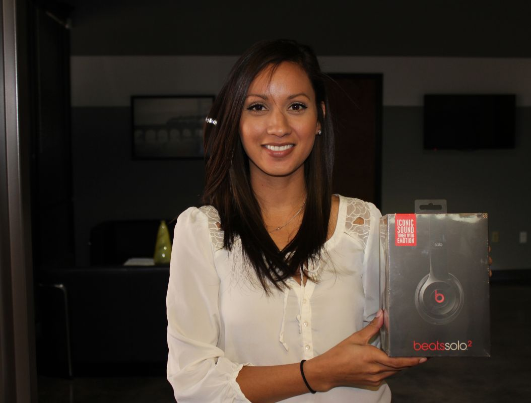 Beats Headphones Winner – Tech Expo 2015