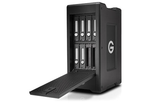 G-SPEED Shuttle XL Now Available with Thunderbolt 3 and ev Bay Adapters