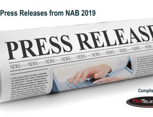 NAB 2019 Press Releases Compiled by TM Television